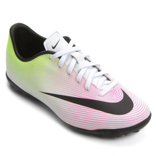4a0affdcc6 Chuteira Nike Mercurial Victory 5 TF Society Infantil - Compre Agora ...