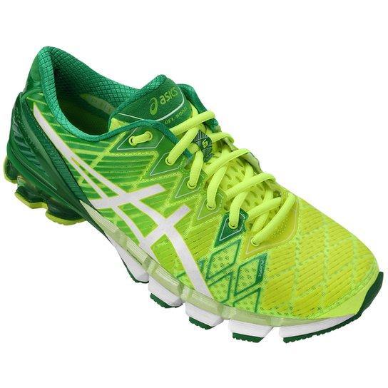 e52290b30 Tênis Asics Gel Kinsei 5 Masculino - Verde Claro+Verde Limão