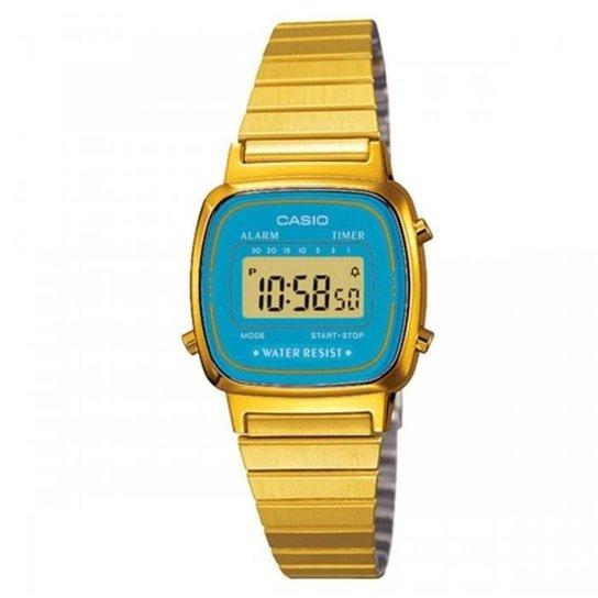 7f57d5f25bf Relógio Casio Vintage LA670WGA-2DF - Compre Agora