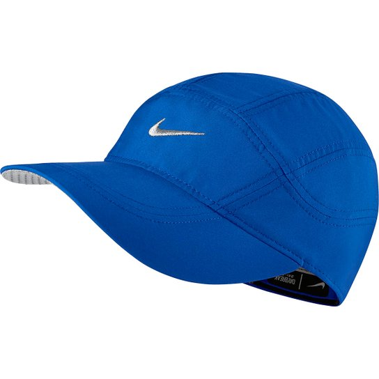cf3a312b075c4 Boné Nike Aba Curva Dri-Fit Spiros - Azul Royal - Compre Agora ...