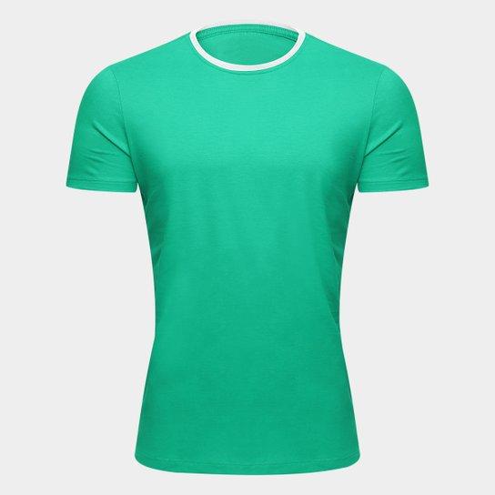 318f1272c94 Camiseta Adidas Blank Masculina - Verde e Branco - Compre Agora ...