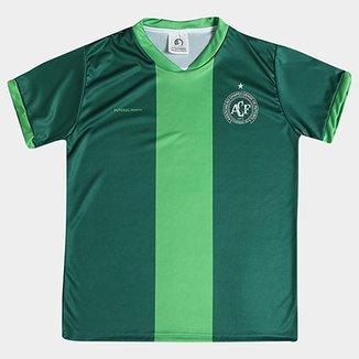 d59e486b0423d Camiseta Infantil Chapecoense Sublimada III