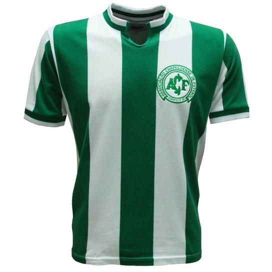 d77ffcae68 Camisa Liga Retrô Chapecoense 1979 - Verde e Branco - Compre Agora ...