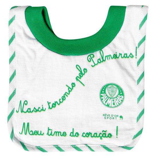 Babador Palmeiras Bebê Frase - Compre Agora  0dc1582ac8e7a
