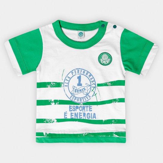 Camiseta Palmeiras Bebê Esporte e Energia - Compre Agora  953cd6f25c7b3