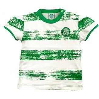 Craquelada Meia Malha Menina Palmeiras Reve Dor - 2 Anos 1120784762b33