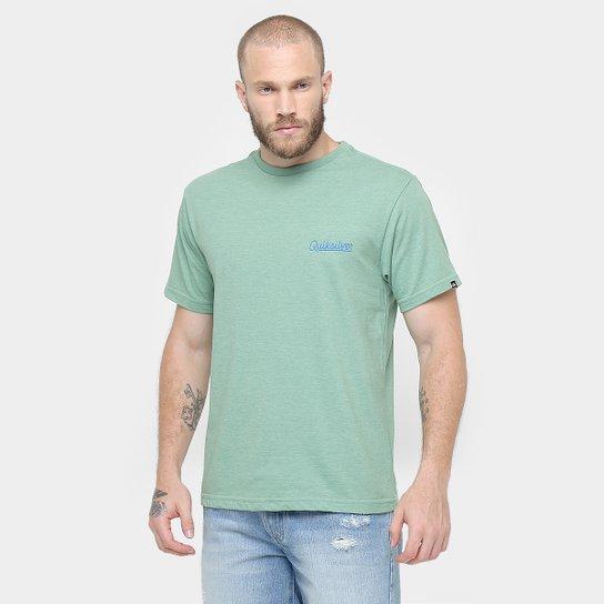 Camiseta Quiksilver Básica Boarding Company - Compre Agora  56986abec2bb1