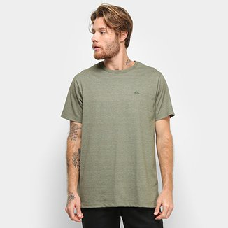 Camiseta Quiksilver Chest Embroidery Color Masculina