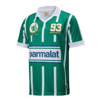 Camisa Retrô Gol Zinho Ex-Palmeiras Réplica 93 Masculina 5cc09073cf464
