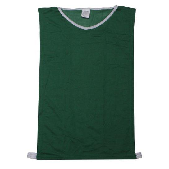 Colete Para Treinamento Play-Fair Infantil - Verde e Branco - Compre ... 30dc1c2521e4a