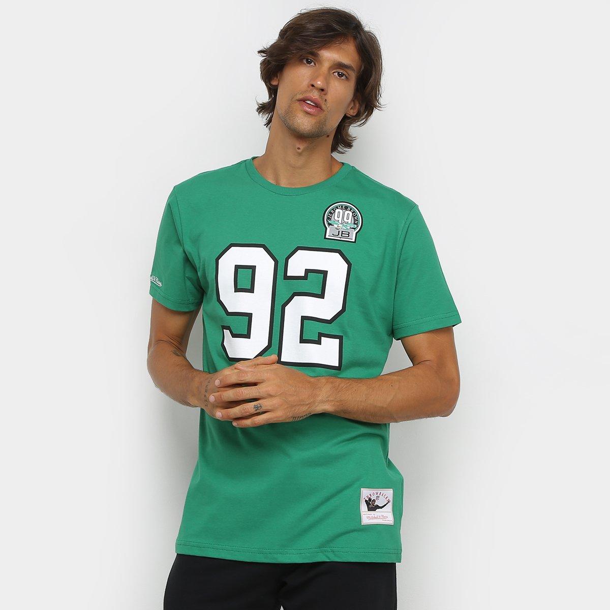 Camiseta NFL Philadelphia Eagles nº 92 Reggie White Mitchell & Ness Masculina