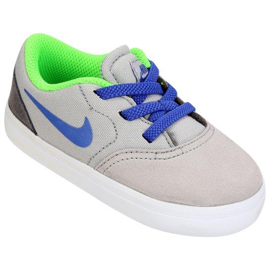 4da2b9a9ff5 Tênis Nike SB Check Infantil - Verde e Branco - Compre Agora