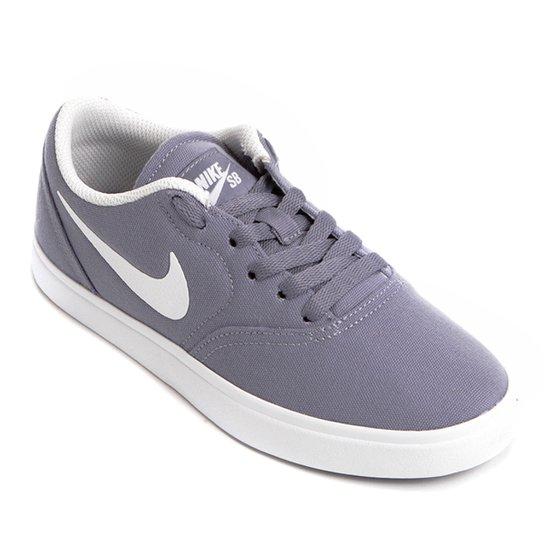 Tênis Infantil Nike SB Check Cnvs I Masculino - Azul e Gelo - Compre ... 270bf162f4f2e