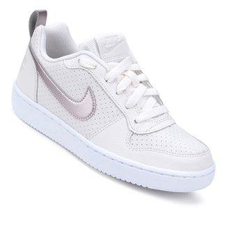 0e00f5f4d66 Tênis Infantil Nike Court Borough Low Feminino