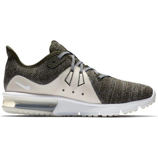 0484bbc4 Tênis Nike Air Max Fury Sequent 3 Feminino - Verde e Branco | Netshoes