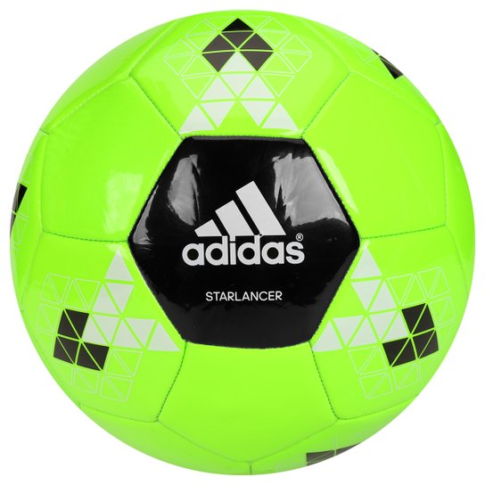99713fba4e Bola Futebol Campo Adidas Starlancer 5 - Verde Limão+Preto