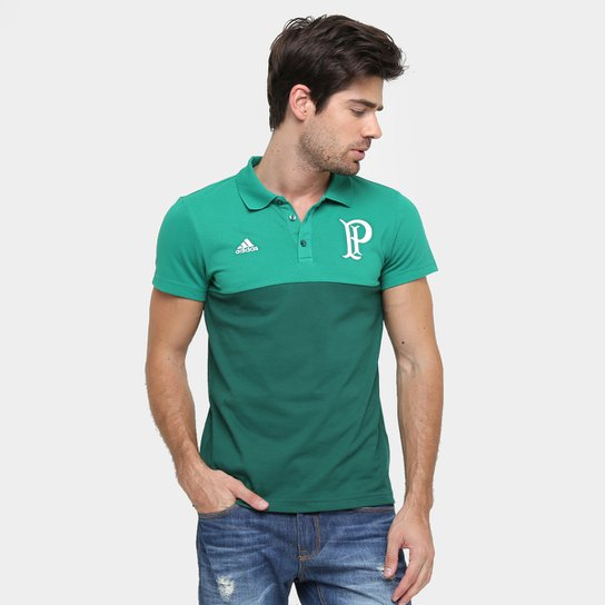Camisa Polo Palmeiras Adidas Especial Masculina - Verde e Branco ... 2b3791aed9aff