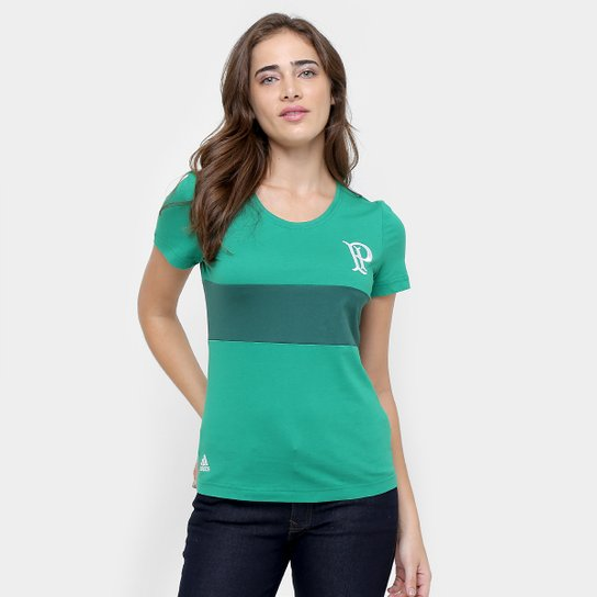 0e4289e52b Camiseta Palmeiras Adidas Feminina - Compre Agora