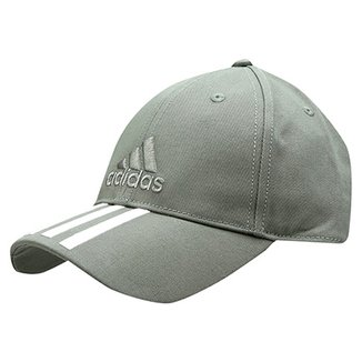 c3865db2da7d4 Boné Adidas Aba Curva Essential 3S Cotton Masculino