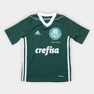 6eaec5f2d3ee5 Camisa Palmeiras Infantil Obsessão Edição Limitada Adidas