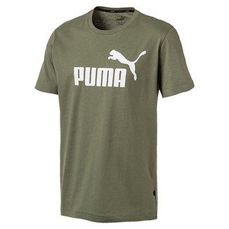 f1afeac3813 Camiseta Puma Ess Logo Masculina