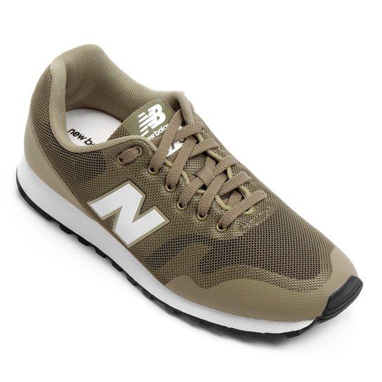081a99e62e50b Tênis New Balance 373 Masculino - Verde Militar+Branco