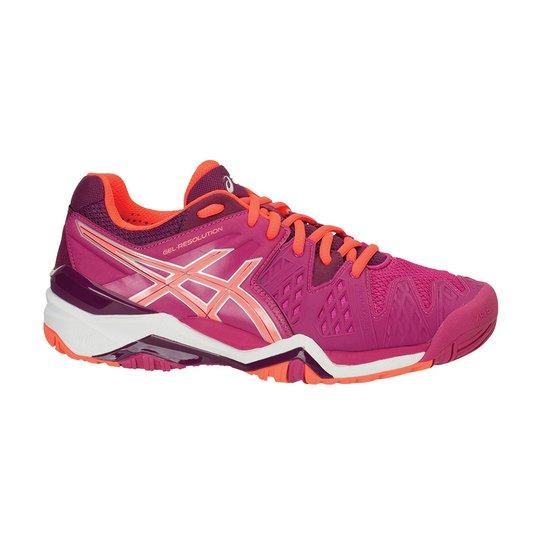 8863d423f4 Tênis Para Tennis Asics Gel-Resolution 6 Feminino - Compre Agora ...