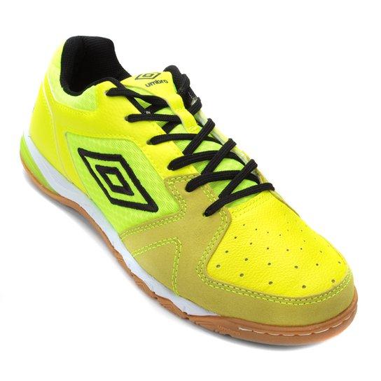 Chuteira Futsal Umbro Pro III - Verde e Branco - Compre Agora  8666f939b826d