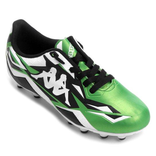 a461dc8474 Chuteira Campo Kappa Future - Verde+Branco