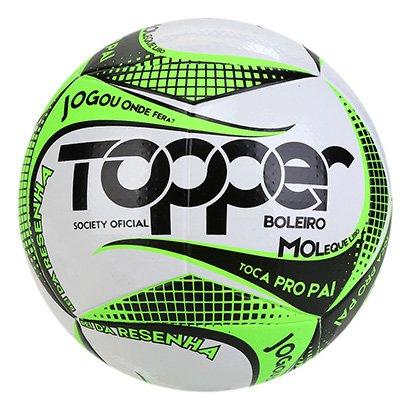 Bola de Futebol Society Topper Boleiro 2019 Exclusiva