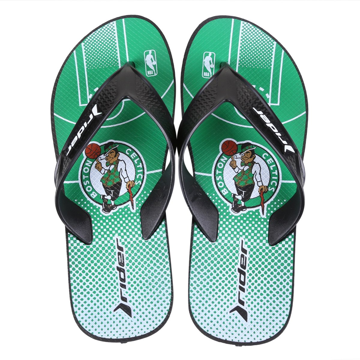 Chinelo NBA Boston Celtics Rider Street Bold Ad Masculino