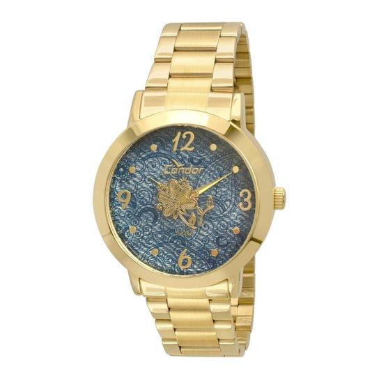 c213c00c8c8 Kit Relógio Condor Feminino Denim - Compre Agora