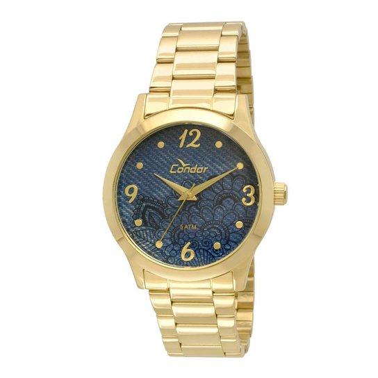 Kit Relógio Condor Feminino Denim - Compre Agora   Netshoes c57f678f35