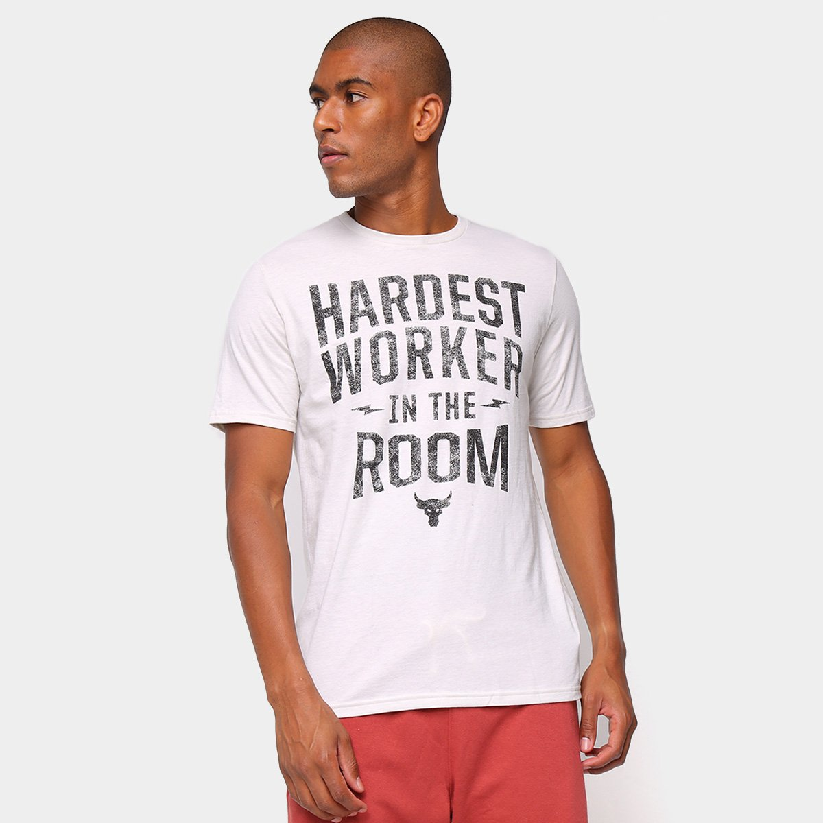 Camiseta Under Armour Project Rock Hard Masculina
