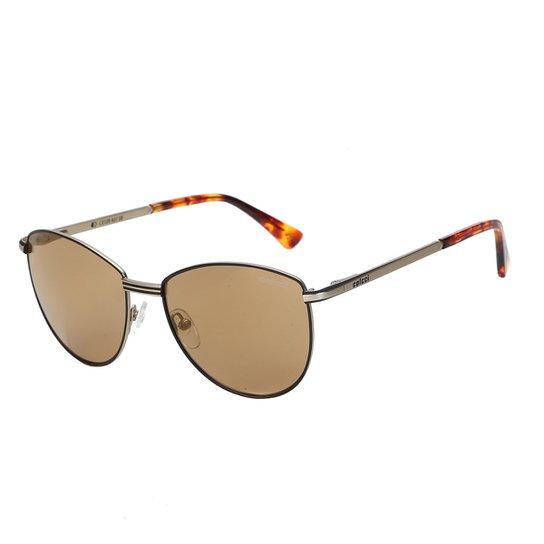 9fc98ed09 Óculos de Sol Colcci C0109 Masculino - Dourado e Marrom   Netshoes