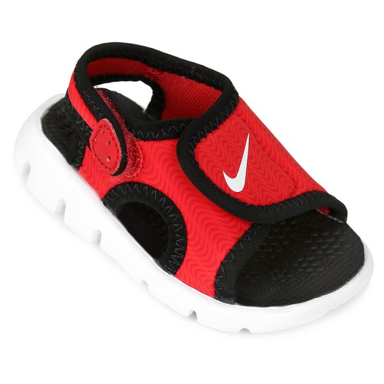 e91f0b6e1d Sandália Infantil Nike Sunray Adjust 4 - Vermelho   Netshoes