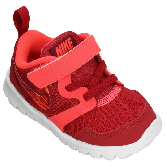 6f8c642c156 Tênis Nike Flex Experience 3 Infantil - Vermelho+Branco