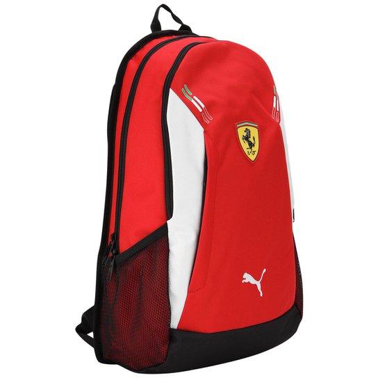 f11721e8a Mochila Puma Ferrari - Vermelho+Preto