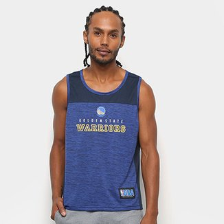 767bc723a Camiseta Regata NBA Golden State Warriors Fio Tinto Mesh 17 Masculina
