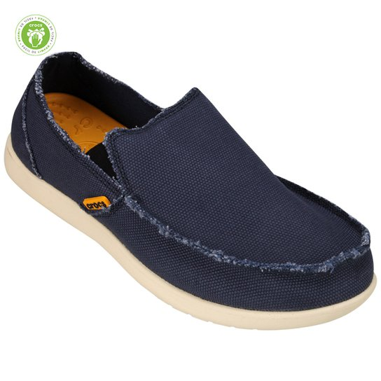 19c04b791d039 Sapato Crocs Santa Cruz Loafer - Marinho | Netshoes