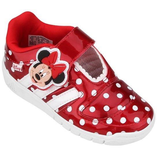7b25b088b1c Tênis Adidas Disney Minnie Syn CF Infantil - Vermelho+Branco
