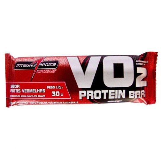 1fa5dd408 Vo2 Protein Bar 30G - Integral Médica - Côco - Frutas Vermelhas ...