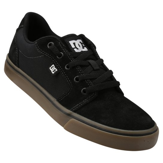 767df51da Tênis DC Shoes Anvil 2 La - Preto+Marrom ...