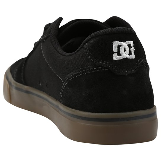 c3ebb81cd ... Tênis DC Shoes Anvil 2 La - Preto+Marrom ...