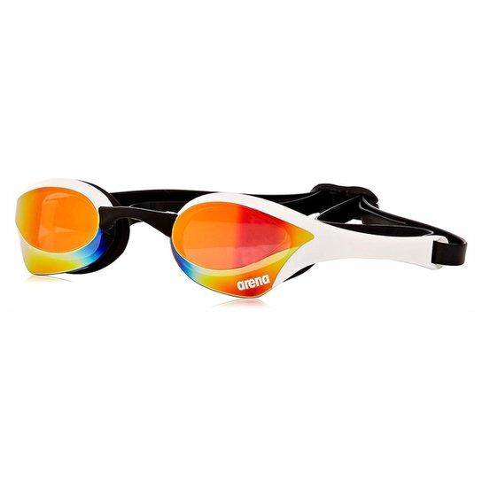 7f64fa9e8 Óculos de Natação Profissional Espelhado Arena Cobra Ultra Mirror -  Vermelho+Branco