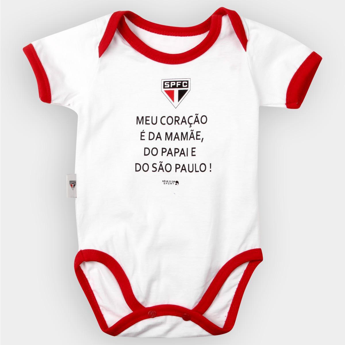 49a45e310 Body São Paulo Bebê Meu Coração É..