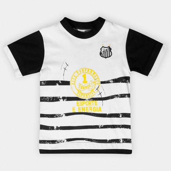 145cca372e419 Camiseta Santos Infantil Esporte e Energia - Compre Agora