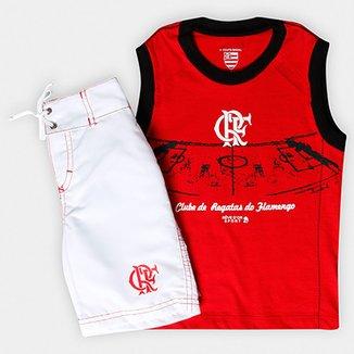 cb79c4266b Compre Kit Infantil Olympikus Flamengo Online