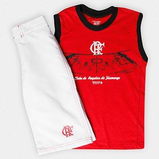 Conjunto Flamengo Infantil Bermuda e Regata 5b8bb59f6e7a7