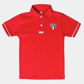 2d61e758fe Conjunto São Paulo Camisa Polo e Bermuda Infantil - Compre Agora ...